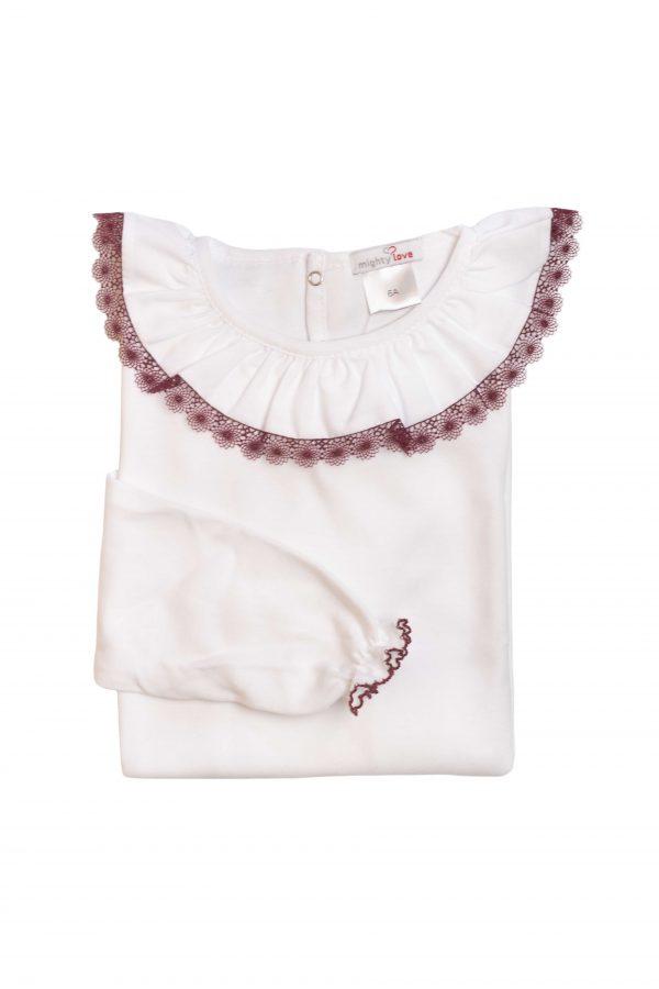 camisola de gola